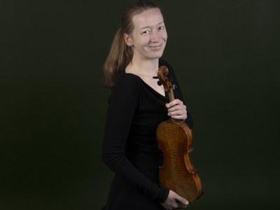 1. Konzertmeisterin © Nancy Horowitz