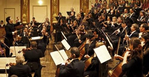 Concert in the Musikverein Vienna