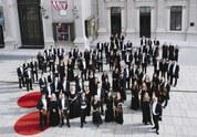 Musikverein Wien mit Orchester