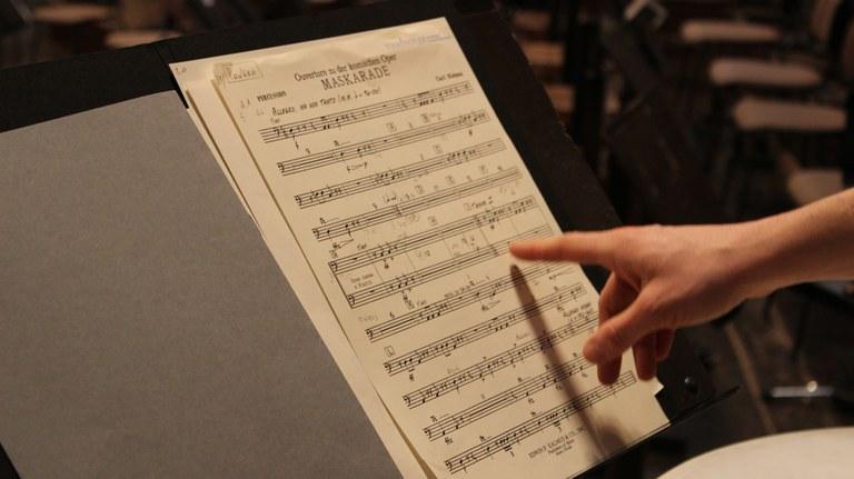 Eine Probe ist kein Konzert – aber genau das ist das Spannende daran! Das Tonkünstler-Orchester bietet dir die Möglichkeit, Arbeitsproben zu besuchen.  © Reinhard Öhner