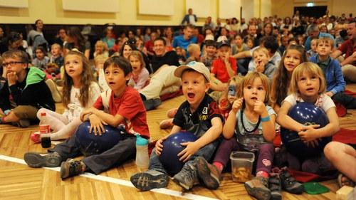 Children at Reitschule Grafenegg