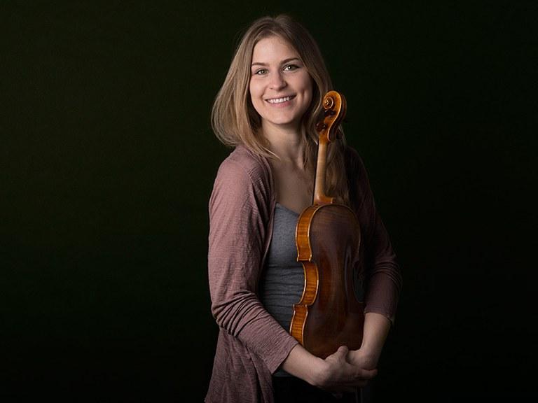 1st violin © Nancy Horowitz