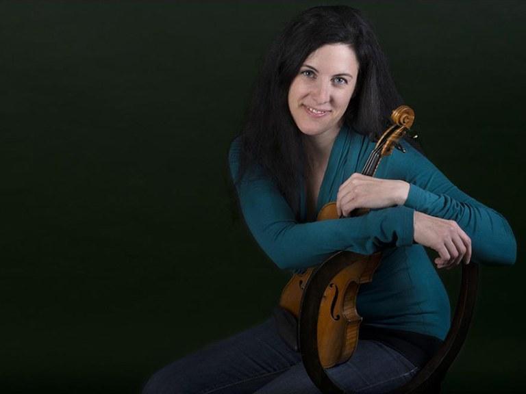 Sub-principal 1st violin © Nancy Horowitz