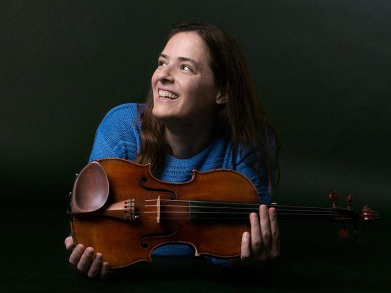 Sub-principal 2nd violin © Nancy Horowitz