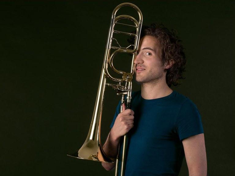 1st/2nd trombone © Nancy Horowitz