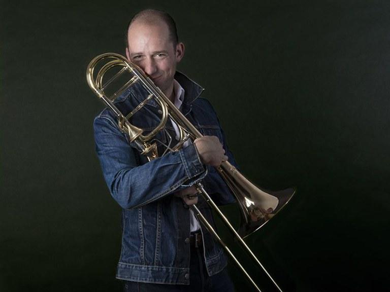 Bass trombone © Nancy Horowitz