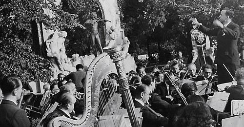Musicians at Vienna's Stadtpark